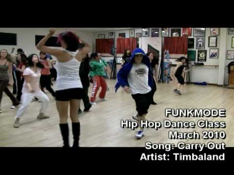 Carry Out - Timbaland & Justin Timberlake - Funkmode Hip Hop Dance Class - March 2010 video