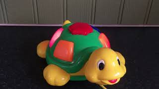 Megcos Turtle Musical Flashing Toy - Lots of Children's Songs