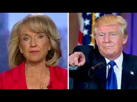 Former Arizona Gov. Jan Brewer talks endorsement of Trump