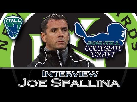 NY Lizards' Head Coach Joe Spallina MLL Draft Interview