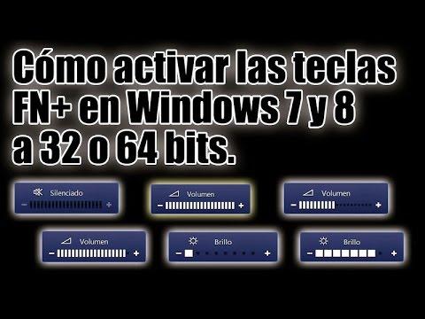 Como Activar Las Teclas Fn en Sony VAIO Con Windows 7. 8. 10  a 32 o 64 bits