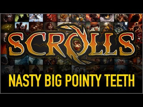 Scrolls - Nasty big pointy teeth