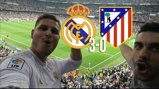 REAL MADRID 3 - ATLETICO DE MADRID 0 | INCREIBLE NOCHE DE CHAMPIONS EN EL BERNABEU!!! | CACHO01