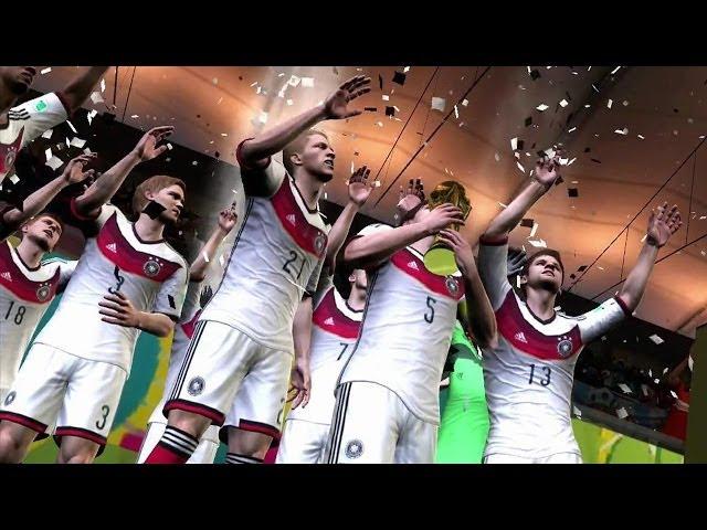 FIFA Fussball-WM Brasilien 2014 - Test / Review (Gameplay) zum WM-Spiel für PS3 und Xbox 360
