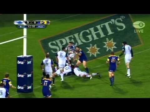 Super Rugby Highlights 2011 - Highlanders vs Blues Rd.11 - Blues v Highlanders highlights Rd. 11 Blu