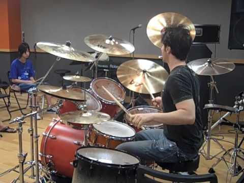 Soundcheck- Glen Sobel Drum Clinic- Jennifer Batten