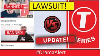 T-Series & India Court DEMAND YouTube REMOVES PewDiePie Music Videos! #DramaAlert