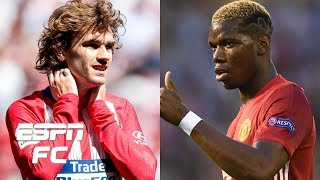 What's holding up Griezmann's Barcelona move? Pogba staying at Manchester United? | Transfer Talk