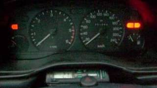 Mondeo 1.8 TD (MK2) Cold Start at -2C