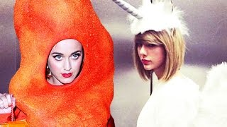 Justin Bieber, Taylor Swift, Katy Perry Best Halloween Costumes 2014