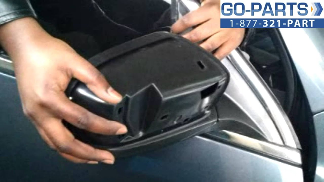 Replace 2003 2007 Honda Accord Side Rear View Mirror How