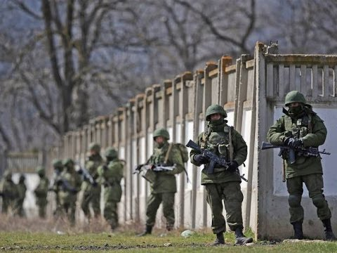 Ukraine Photos 'show Russian troops' in east | BREAKING NEWS - 22 APRIL 2014