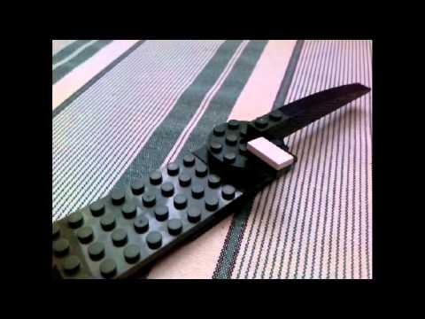 Как сделать из лего нож к