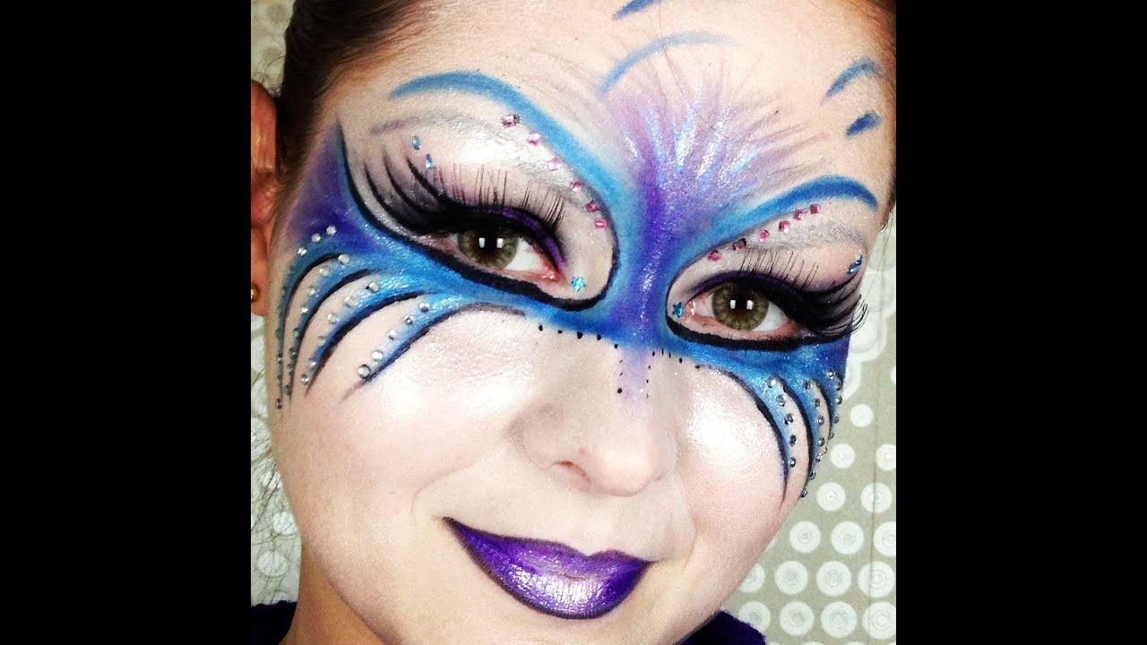 Maquiagem Artistica Passo a Passo Maquiagem Art Stica Gralha
