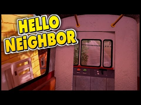 Hello Neighbor - Cart Riding & Stuck In The Fridge! [Let's Play Hello Neighbor Gameplay]