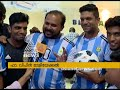 Chellanam Messi Fans excited with messi signed football
