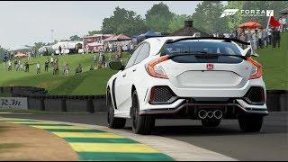 FK8 Honda Civic Type R on Virginia Internation Raceway   Forza Motorsport 7