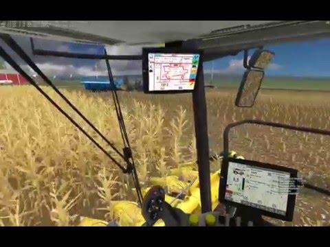 Farming Simulator 2015:  Server Corn Harvest Episode 1