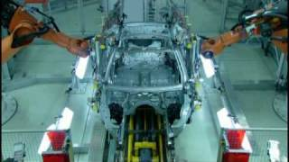 BMW 5 Series Production Process - Factory line