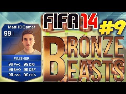 FIFA 14 - BRONZE BEASTS - TOTS PACKS!