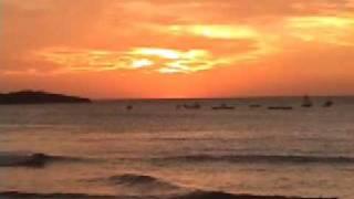 Sunset in Playa Tamarindo Beach, Costa Rica
