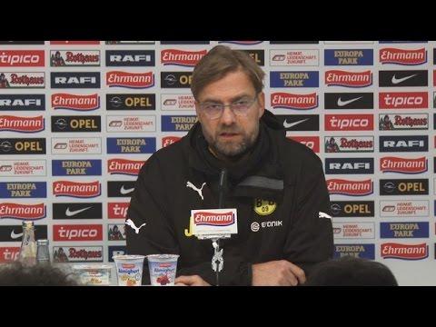 Pressekonferenz: Jürgen Klopp nach dem Auswärtssieg beim SC Freiburg (3:0) | BVB