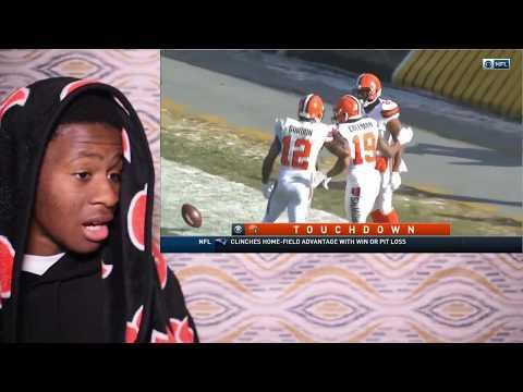 BROWNS GO WINLESS!!!! Browns vs. Steelers | NFL Week 17 Game Highlights