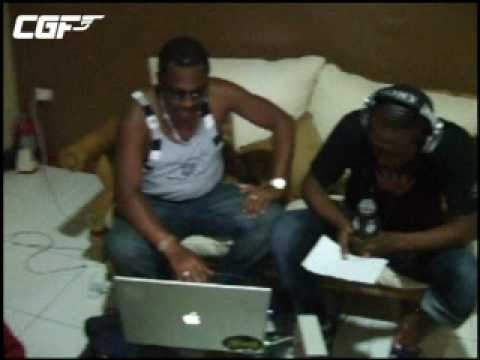 Chris Goldfinger - Busy Signal in Jamaica Radio 1