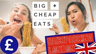 Where To Eat in London As A Backpacker - CHEAP + FILLING w/ Dejashu