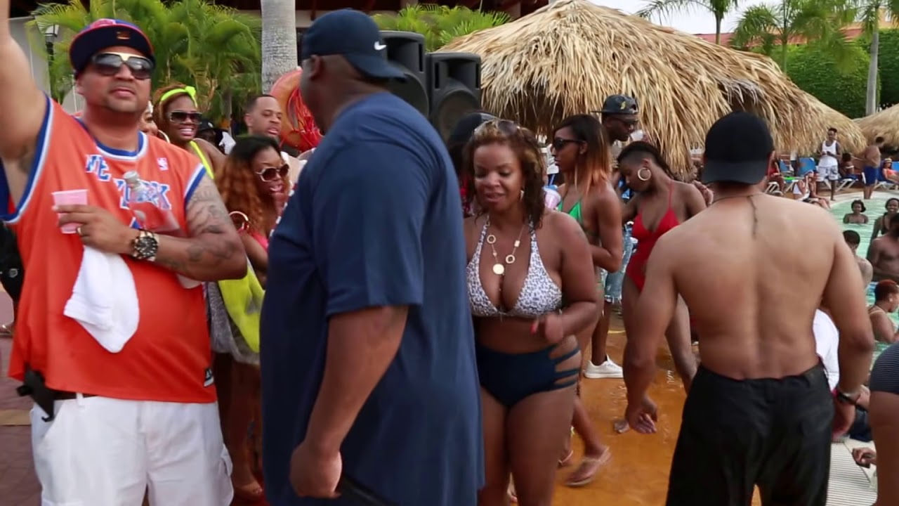 Dominican Pool Party Cana Pool Party Part 1