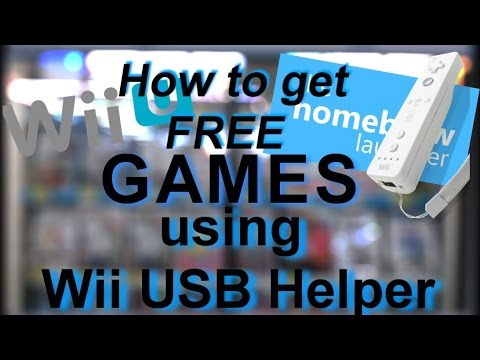 How to install FREE GAMES/DLC on your Wii U (Using Wii USB Helper) 2017 #1