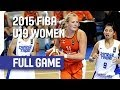 Chinese Taipei v Netherlands - Group A - Live Stream - 2015 FIBA U19 Women's World Championship