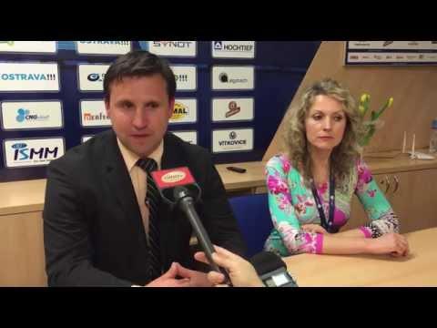 Trenér Baníku Petr Frňka hodnotí zápas s FC Viktoria Plzeň (0:2)