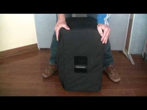 Review of Cloud 9 Speaker Cover for EV ELX112P speakers
