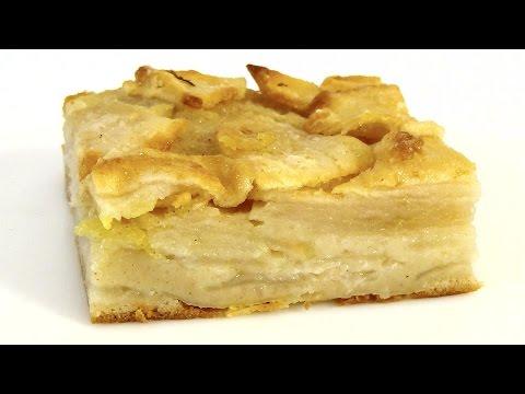 Яблочный пирог от сестер Симили #быстро_к_чаю