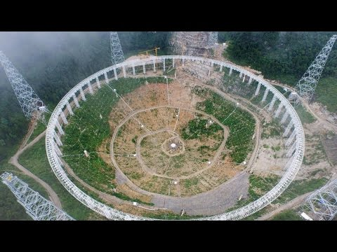 China Searching for Alien life with World's Biggest Radio Telescope