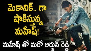 Mahesh Babu As Car Mechanic for Arjun Reddy Director Next Movie-Mahesh Babu Role