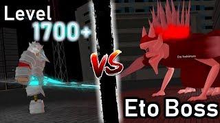 Ro-Ghoul   Level 1700+ VS Eto Yoshimura Boss!   W/arata & Without