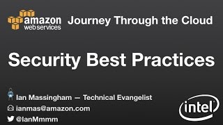 Journey Through the Cloud -  Security Best Practices