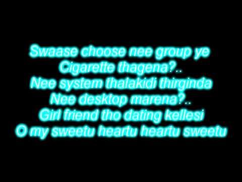 ALL IS WELL medicine version lyrics and song telugu