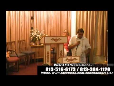 Culto Evangelistico Concilio Pentecostal Senda Antigua A.M.I.P. Tampa Fl. 08-17-2014