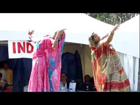 Indian Dance (Part 1: Resham Ka Rumal)  Edmonton Heritage Festival...