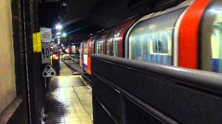 (HD) Waterloo and City Line- Train 202 enters the depot at Waterloo station