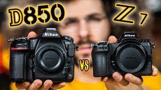 Nikon D850 vs Nikon Z7: Which Camera To Buy? The ULTIMATE BATTLE