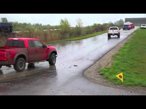 2010 Ford F-150 SVT Raptor 6.2 - First Mud Bath