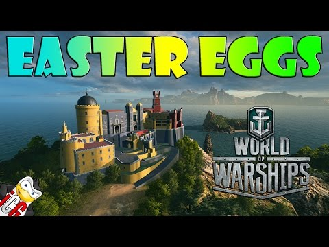 World of Warships Easter Eggs #2 - Atlantic Map (Portugal Inspired)