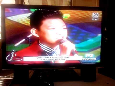 Darren Espanto Give Love On Christmas Day On Kris TV