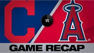 Plesac earns his 1st shutout in 8-0 win | Indians-Angels Game Highlights 9/10/19