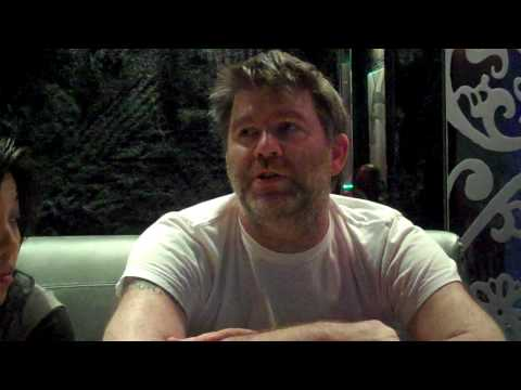 James Murphy & Nancy Whang of LCD Soundsystem