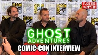 GHOST ADVENTURES - Billy Tolley, Jay Wasley, Aaron Goodwin Comic-Con Interview - SDCC 2019